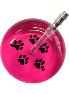 UltraScope Stethoscope Paw Prints 026 - Hot Pink