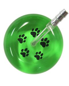 UltraScope Stethoscope Paw Prints 026 - Light Green