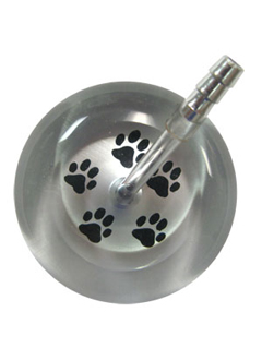 UltraScope Stethoscope Paw Prints 026 - Silver