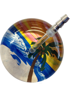 UltraScope Stethoscope Palm Tree 036 - Orange