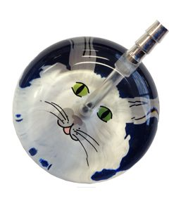 UltraScope Stethoscope Cat Face 062 - Navy