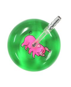 UltraScope Stethoscope Pig 066 - Lime Green