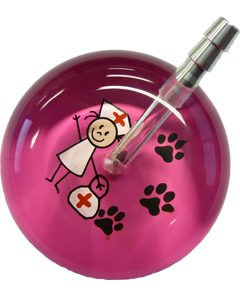 UltraScope Stethoscope Nurse 067 w/Paws - Hot Pink