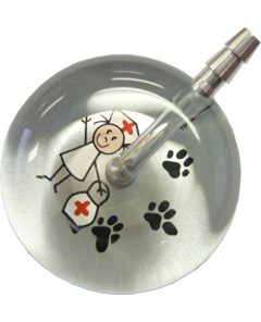 UltraScope Stethoscope Nurse 067 w/Paws - Silver