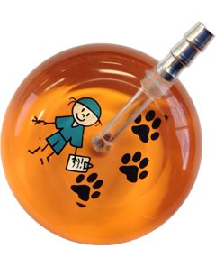UltraScope Stethoscope Scrubs 098 w/Paws - Orange