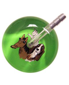 UltraScope Stethoscope Animal Trio 108 - Lime Green