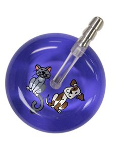 UltraScope Stethoscope Cat & Dog 109 - Purple
