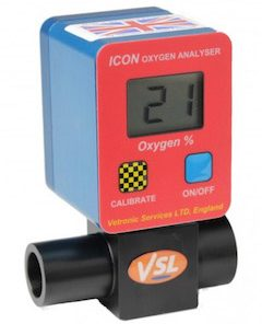 Vetronic ICON Oxygen Analyser (MV-280)