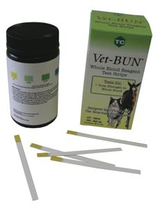 Vet-BUN Blood Reagent Test Strip