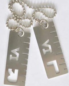 X-Ray Marker with Graduations