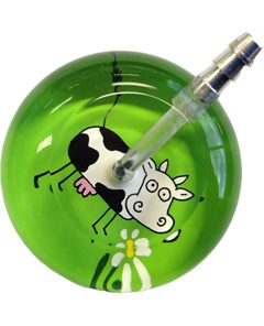 UltraScope Stethoscope Cow 110 - Lime Green