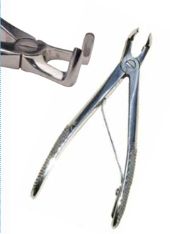 iM3 Small Dog or Cat Right Angle Extraction Forceps (IM3-D1019)